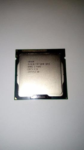 Procesador Intel Pentium G Ghz Dualcore Socket