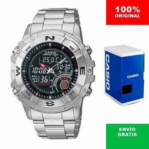 Reloj Caballero Casio Outgear Amw705 Metal - Cfmx