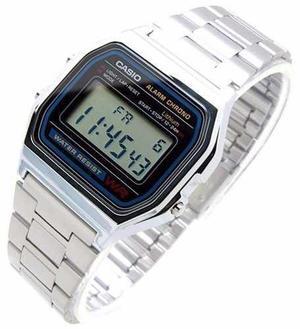 Reloj Casio A158w Acero Original Retro Vintage Envio Gratis