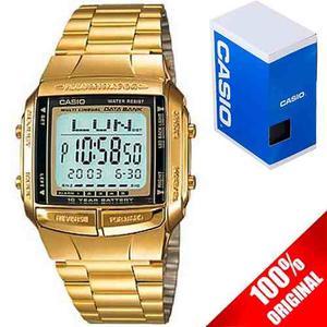 Reloj Casio Retro Vintage Db360 Dorado 30 Memorias