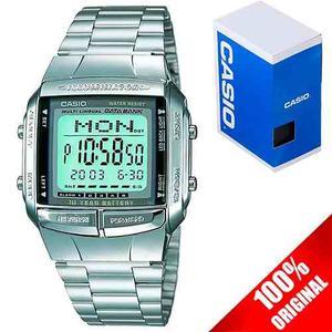 Reloj Casio Retro Vintage Db360 Plata 100% Original