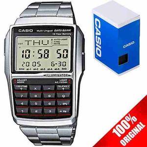 Reloj Casio Retro Vintage Dbc32 Metal Calculadora