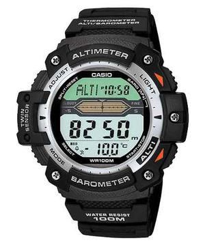 Reloj Casio Sgw300 Altimetro Barometro Termometro Wr100m