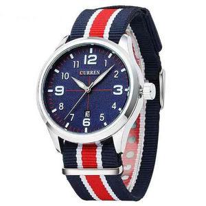 Reloj Curren Deportivo Nautico Cuarzo Original Moda Hombre