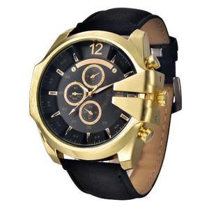 Reloj Deportivo Vintage Hombre Moda Caballero Piel A129