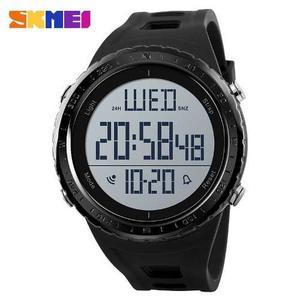 Reloj Hombre Sport Deportivo Digital Negro Sumergible 50 M