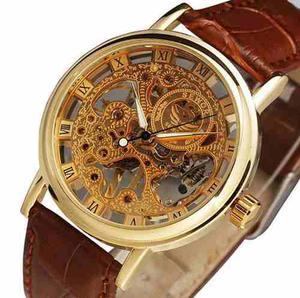 Reloj Mecanico Original Sewor Cuerda Hombre Moda 30 M