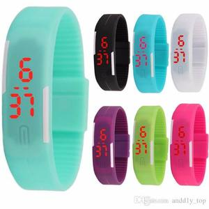 Reloj Pulsera Touch Digital Silicon Barato