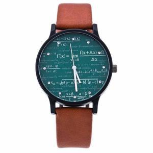 Reloj Retro Matemáticas Vintage Deluxe + Envío Gratis