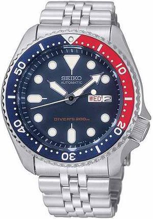 Reloj Seiko Divers Deep Blue Automático Acero Skx009