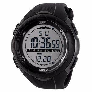 Reloj Tactico Skmei Swim Anti Shock Sumergible 50 Metros