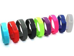 Reloj Touch Deportivo Led Digital Unisex Varios Colores