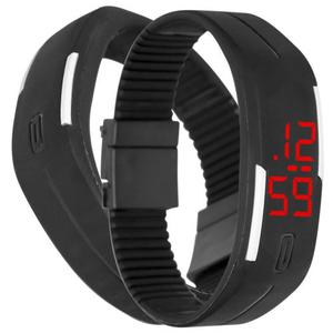 Reloj Touch Digital Deportivo De Pulsera Color Negro M