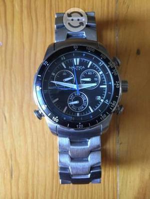 Reloj nautica original cronografo acero inoxidable