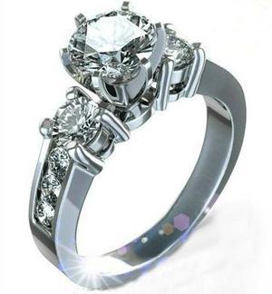 Anillo Compromiso Diamante Forever Brilliant.50ct Rot 14k
