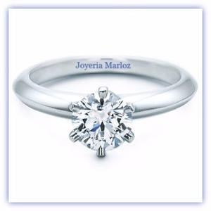 Anillos Compromiso Diamante Forever One.50ct En 14kt
