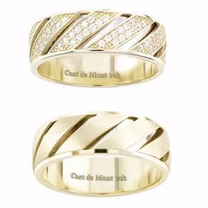 Argollas De Matrimonio Oro De 14k