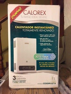 Boiler Calorex Instantaneo NUEVO