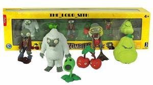 6 Figuras Plantas Vs Zombies Set De Colección Envio Gratis