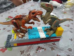 8 Dinosaurios De Jurassic World Compatibles Con Lego