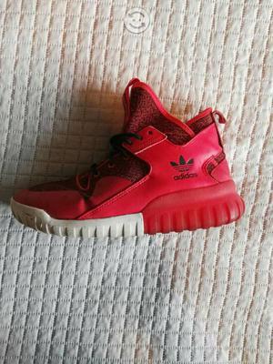 Adidas tubular x rojos