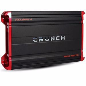 Amplificador Crunch Pzx Canales w Bocinas Medios