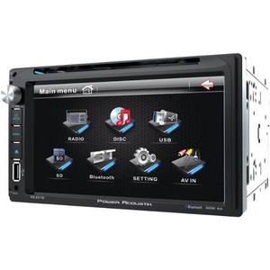 Autoestereo Pantalla Touch Pd-651b Doble Din Usb Bluetooth
