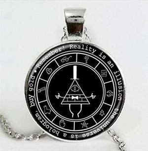 Gravity Falls Collar Envio Gratis Dije Bill Cipher Diario