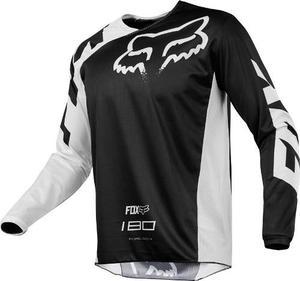 Jersey Fox 180 Race Negro Talla L Motocross Mtb Downhill