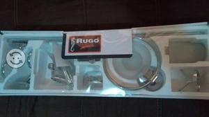 Kit accesorios de baño rugo