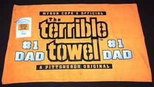 Toalla Terrible #1 Dad Pittsburgh Steelers Dia Del Padre