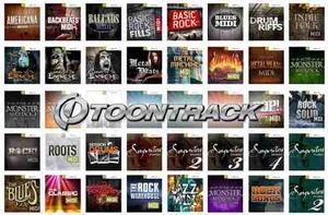 Toontrack Midi Pack Collection, Colección Completa De Midis