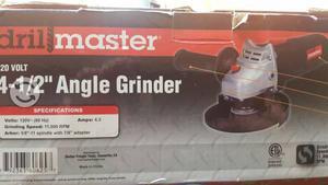 Angle Grinder Nuevo RPM 11,000