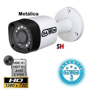 Camara Infrarroja Bullet Saxxon 720p 1mp Hdcvi Metalica