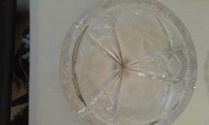 Ceniceros preciosos de cristal cortado