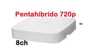 Dvr Dahua 8 Canales Pentahibrido 720p Monitoreo Internet P2p