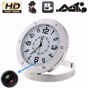 Increible Camara Espia Reloj Detector Movimiento En Oferta