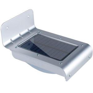 Lámpara Led De Energía Solar Con Sensor De Luz Y