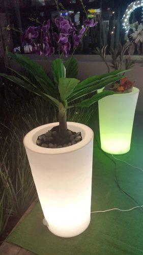Macetas Con Luz Interior