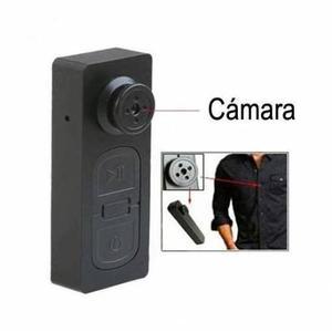 Mini Camara Espia Oculta En Boton Video Y Foto Hd Hasta 32gb