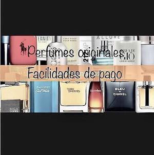Perfumes originales *facilidades de pago*