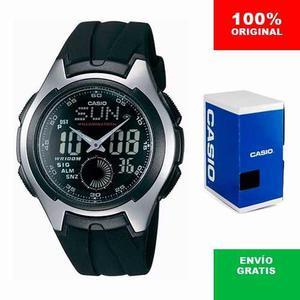 Reloj Casio Aq Zonas Horarias - 100% Original Cfmx -