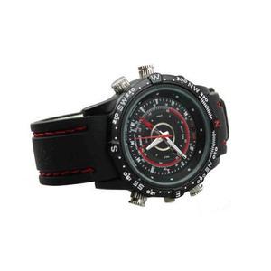 Reloj Con Cámara Espia Dvr Resistente Al Agua 16 Gb Hd 720p