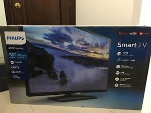 """Smart TV Phillips 50"""" Nueva"""