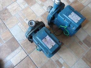 2 bombas agua centrifugas pedrollo 1hp para reparar o piezas