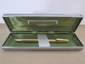 Bolígrafo Sheaffer Imperial 827 - Electrochapado En Oro