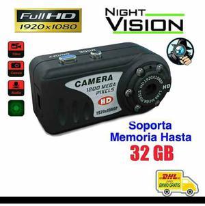Camara Espía Full-hd Sensor De Movimiento Vision Nocturna
