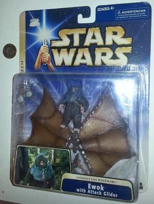 Ewok With Attack Glider, Star Wars, Return Of The Jedi