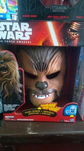 Mascara Chewbaca Star Wars Con Sonidos
