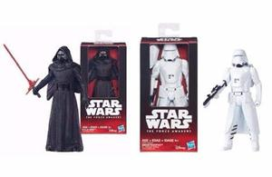 Pack Soldados Star Wars: Kylo Ren Y Snowtrooper 15cm Disney